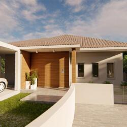 Residential Project In Kokkinotrimithia Three Bedroom House