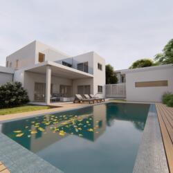 Residential Project In Makedonitissa Nicosia Three Bedroom Villa
