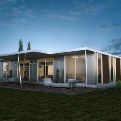 3d Design Of A Prefabricated House
