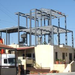 Steel Frame Addition To Existing Building