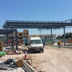 Construction Of A Fuel Station In Mesogi