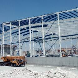Industrial Steel Frame Construction For Oeda In Pentakomo