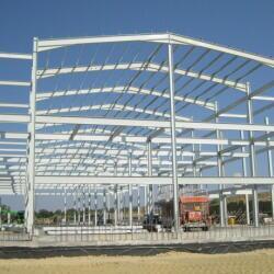 Steel Structure Warehouse In Tseri