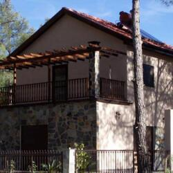 Two Story Steel Frame Cottage House In Moniatis