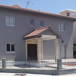 Two Story Steel Frame House In Limassol